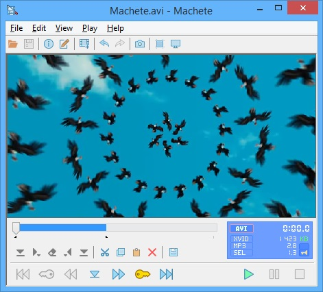 Machete Video Editor Lite - Free Video Editor